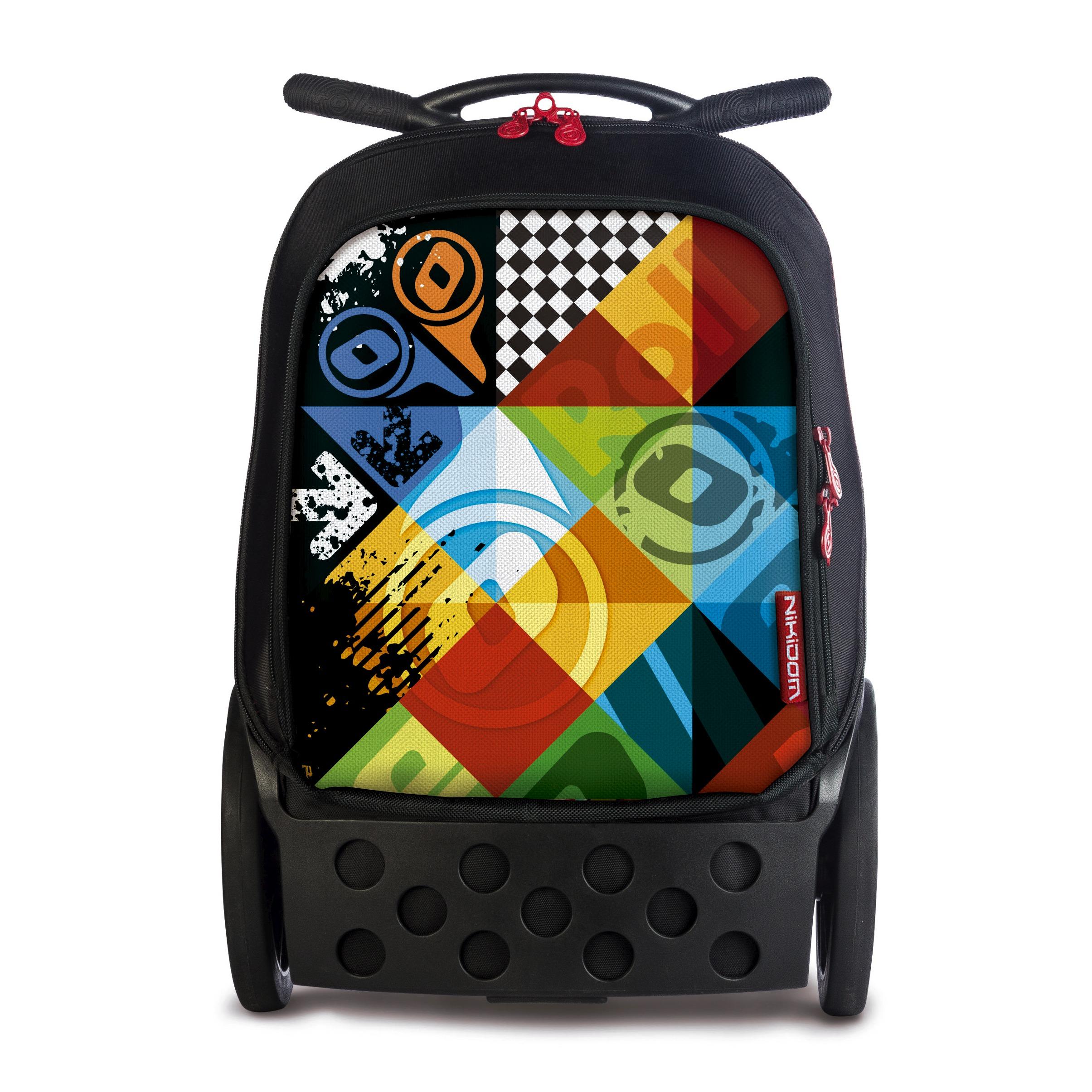 Školní taška na kolečkách Nikidom Roller XL Logomania  37f2bc946d