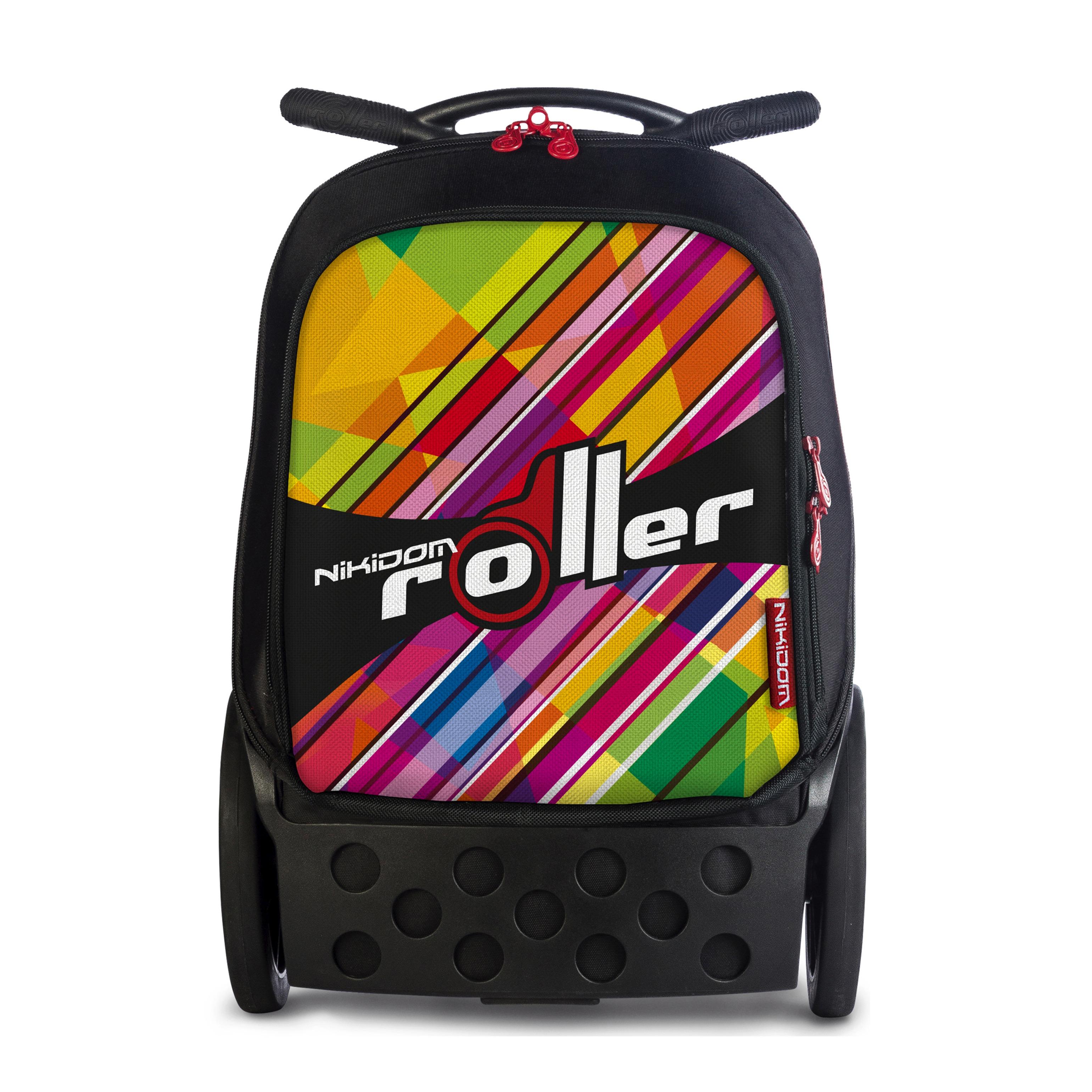 052df60bf90 Školní taška na kolečkách Nikidom Roller XL Kaleido